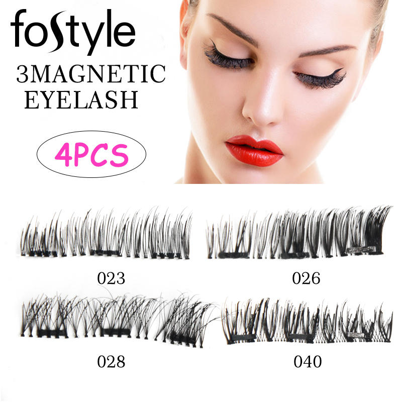 mink eyelashes 3d mink hair lashes Magnetic eyelashes 3D false eyelashes cilios wholesale Eyelashes Japanese Eye Lash Extension