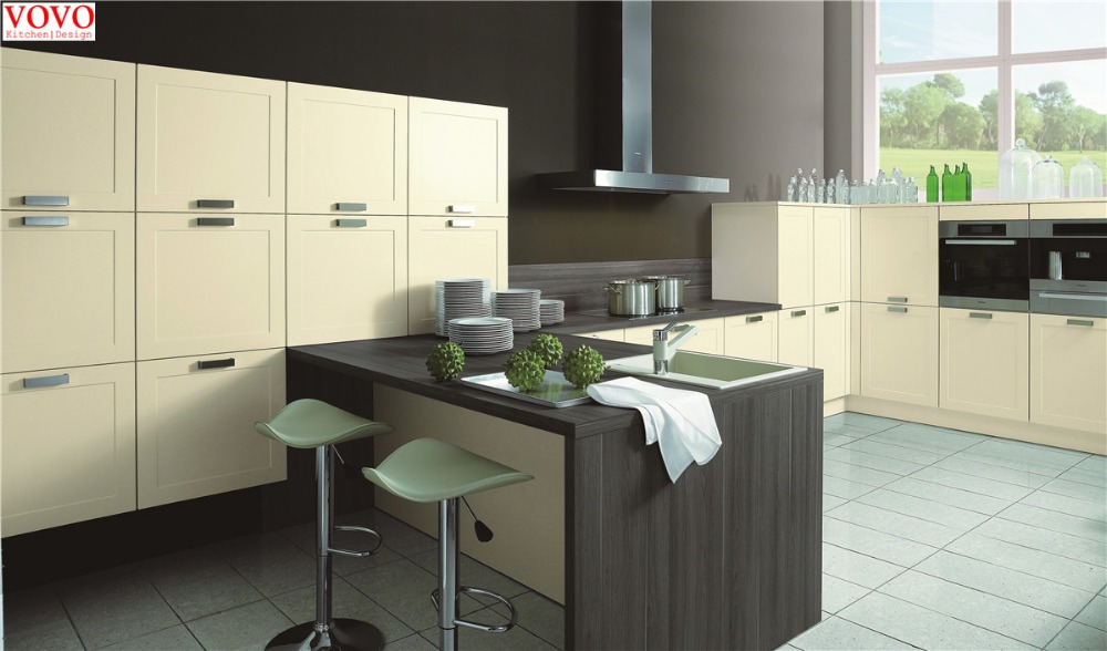 Beige Painting And Melamine Kitchen Cabinet In Kitchen Cabinets From Home  Improvement On Aliexpress.com | Alibaba Group