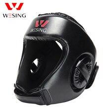 Wesing Бокс Head Guard MMA муай тай Шлем протектор кикбоксингу Head Gear искусственная кожа