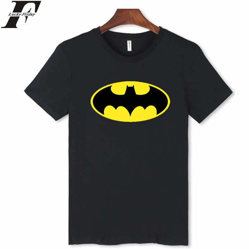 7b3a4a0740768 LUCKYFRIDAYF Batman Short Sleeve Tshirt Men Funny Black Summer Tee Shirt Men  Cotton Casual Funny T