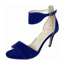 Summer Women Sandals Thin Heels Open Toe Shoes High Heels Beach Ladies Shoes Fashion Rome Sandal Plus Size 35-42 NLK-C0177 цена в Москве и Питере