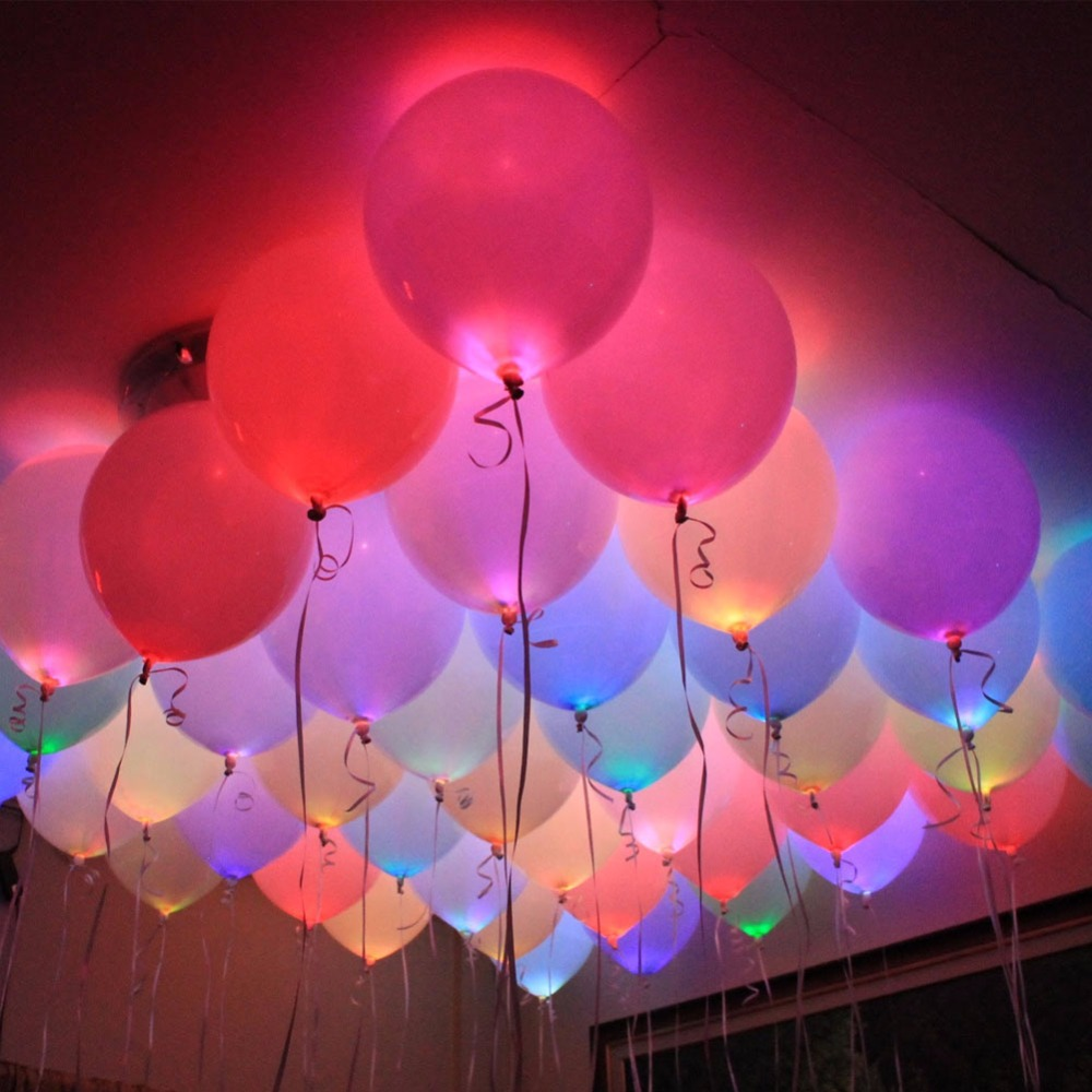 10 Bulb Garden Design Ideas: 20Pcs Mini LED Light Bulbs LED Lamps Balloon Lights For