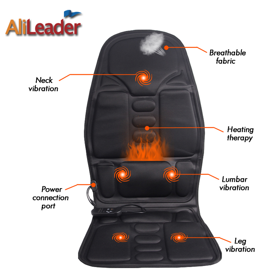 Hot Selling Massage Office Chair Fashion Car Massage Seat Massager  Electrodes Chair Massager With Heat Top Heated Seat Cushion In Massage U0026  Relaxation From ...