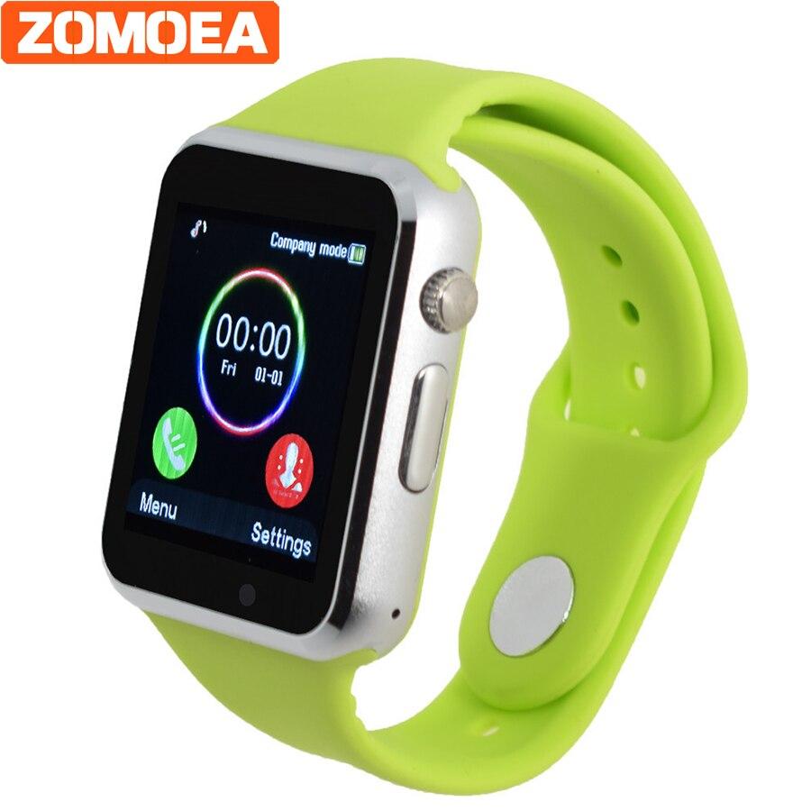 Смарт-часы T2 A1 для Android Поддержка WhatsApp sim-tf Шагомер Спорт <font><b>Bluetooth</b></font> толчок для сяо ми телефон наручные часы dz09 gt08 GT88