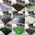 Трендовые золотые металлические геометрические коврики для гостиной  большие размеры  современные ковры для спальни  дивана  настольного д...