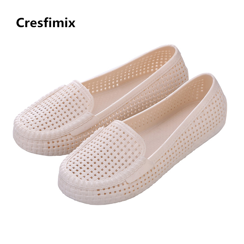 Cresfimix sapatos femininos women cute mesh breathable slip on flat shoes lady casual spring summer flats female leisure shoes cresfimix sapatos femininas women casual soft pu leather flat shoes with side zipper lady cute spring
