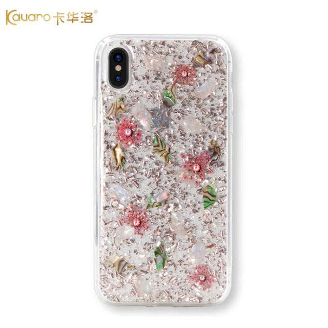 best sneakers 304a7 061fd US $15.78 15% OFF|Original KAVARO Rhinestones Case For Apple iPhone X/ XS/  XS MAX/ XR Cases Crystal Swarovski Element Cover For iPhone XS MAX Case-in  ...