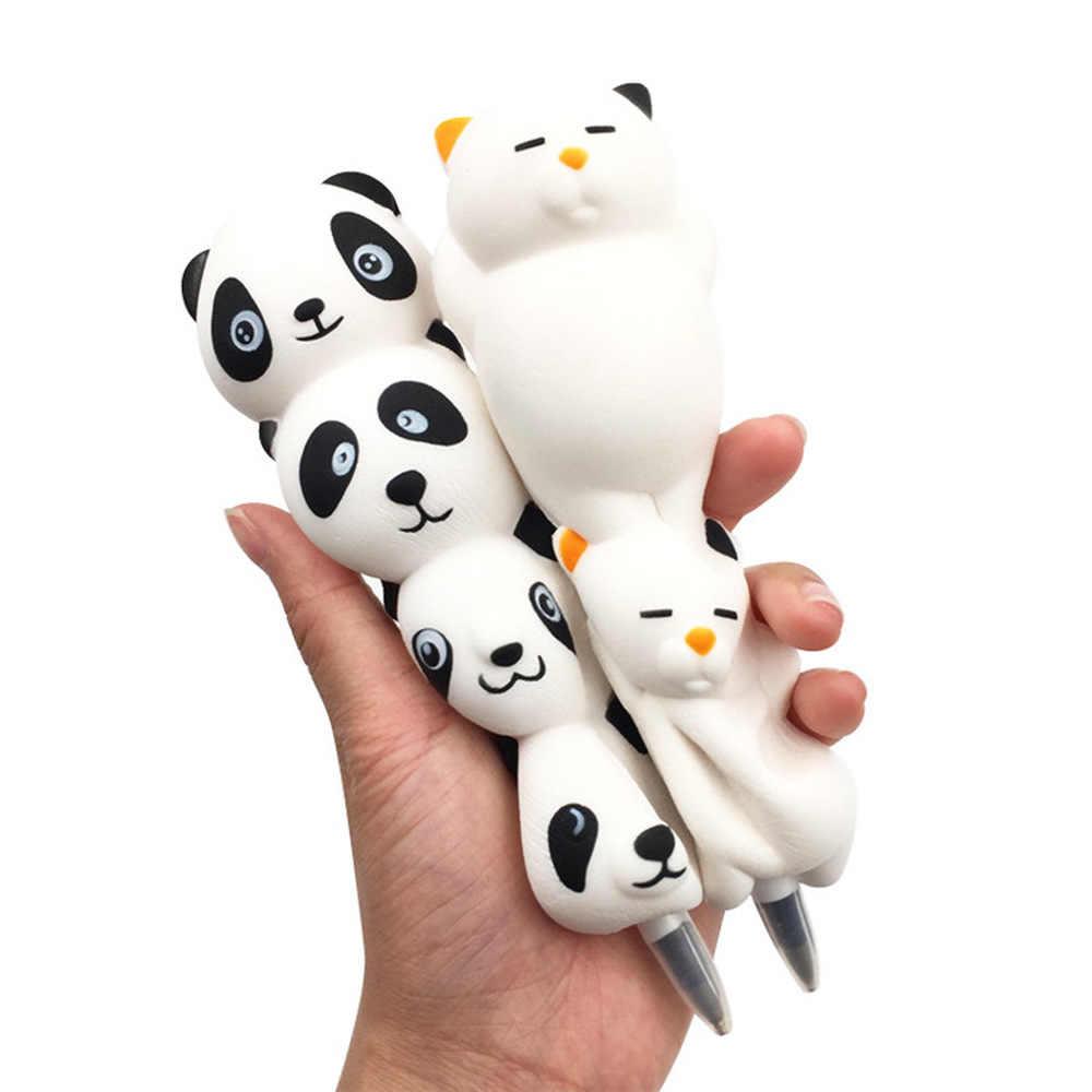 LoveCCD мягкие и милые Единорог кошка торт панда колпачок канцелярский карандаш держатель для ношения с обувью, мягкий медленно нарастающее при сжатии игрушки J18 #2