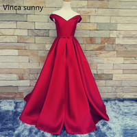 Red Carpet Long Prom Gowns With Belt Sexy V Neck Ball Gowns Open Back Lace Up