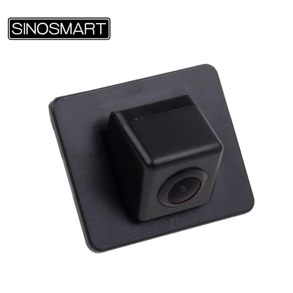 SINOSMART Car Reversing Parking Camera for Mazda Axela Sedan Mazda 3 2017 Install in Factory Original Camera Hole Mirror Image