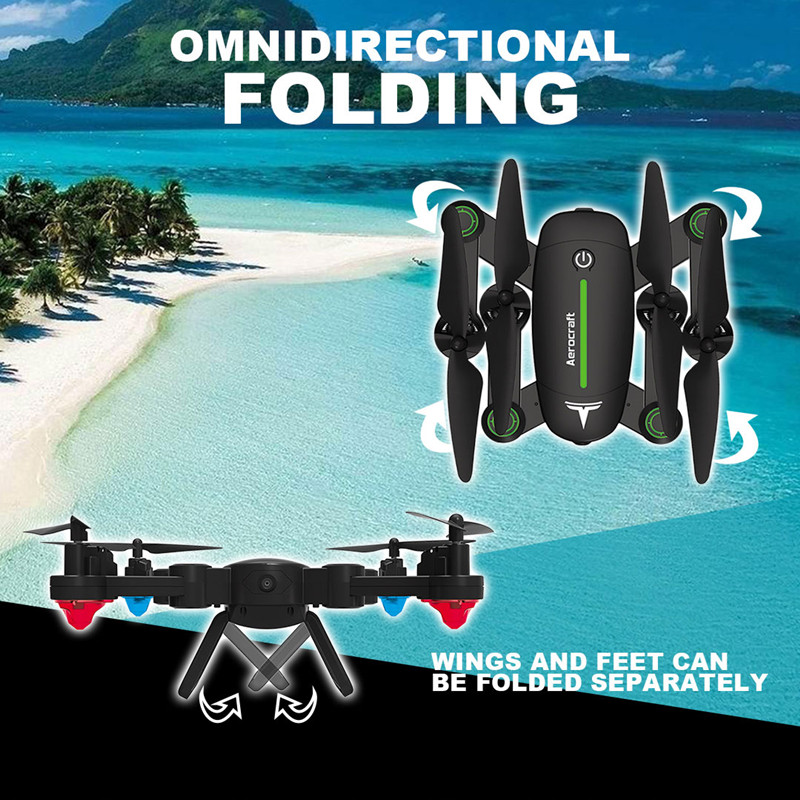 RC Drone F16 F16W Elfie Folded Selfie Pocket Mini Quadcopter With FPV Camera Or No Camera
