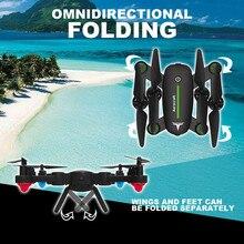 Zangão RC F16 F16W Elfie Dobrado Selfie Bolso Mini Quadcopter Com Câmera FPV Ou Sem Câmera Altitude Hold VS E58 E51 H47 XS809HW