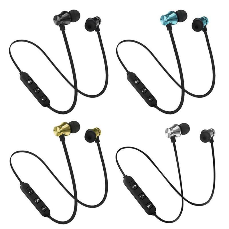 XT11 Headphones Magnetic Wireless Running Sport Earphones Headset BT 4.2 with Mic MP3 Earbud For iPhone LG Smartphones magnetic attraction bluetooth earphone headset waterproof sports 4.2