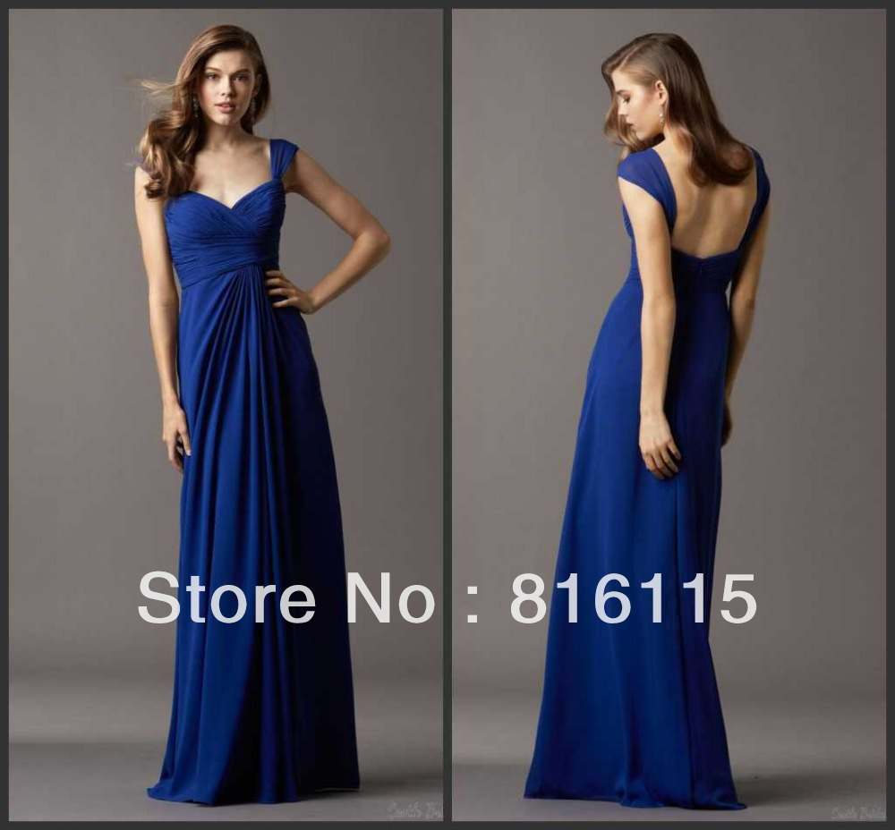 Compare Prices on Royal Blue One Shoulder Bridesmaid Dresses ...