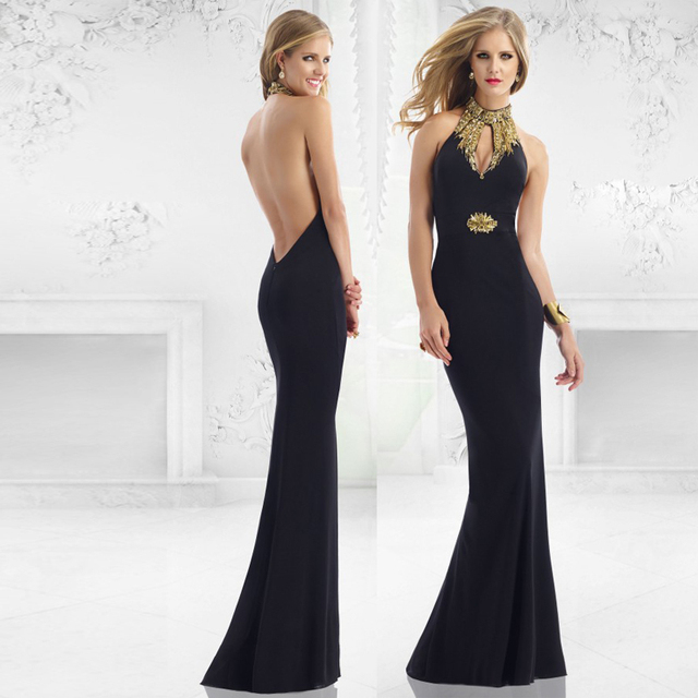 Fitted Backless Prom Dresses
