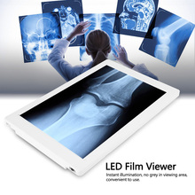 36 x 24cm LED X-Ray Viewer Illumination With EU Plug  AC 100-240V High Brightness LED Panel Dimmable dental x ray film illuminator light box x ray viewer light panel a4 freeshipping