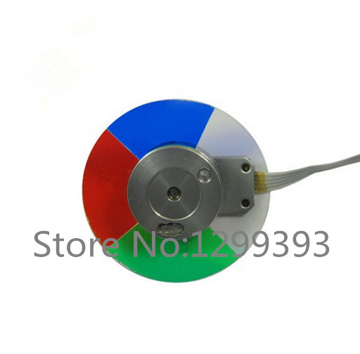 Projector color wheel for Toshiba  S8 T9 wholesale original dlp projector color wheel for sanyo dsu20 color wheel