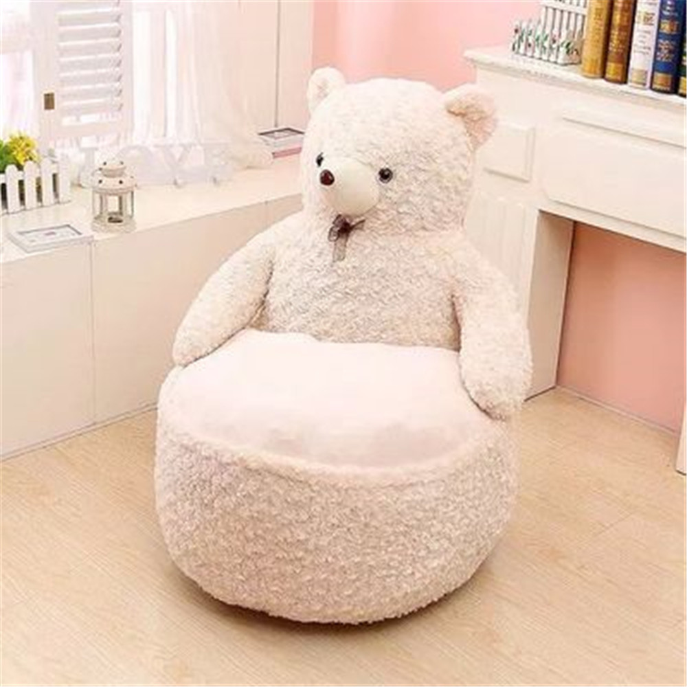 Admirable Us 56 35 22 Off Fancytrader Pop Anime Teddy Bear Chair Toys Huge Stuffed Soft Animals Bears Sofa Cushion For Kids Adults 7 Colors 2 Sizes In Stuffed Pabps2019 Chair Design Images Pabps2019Com