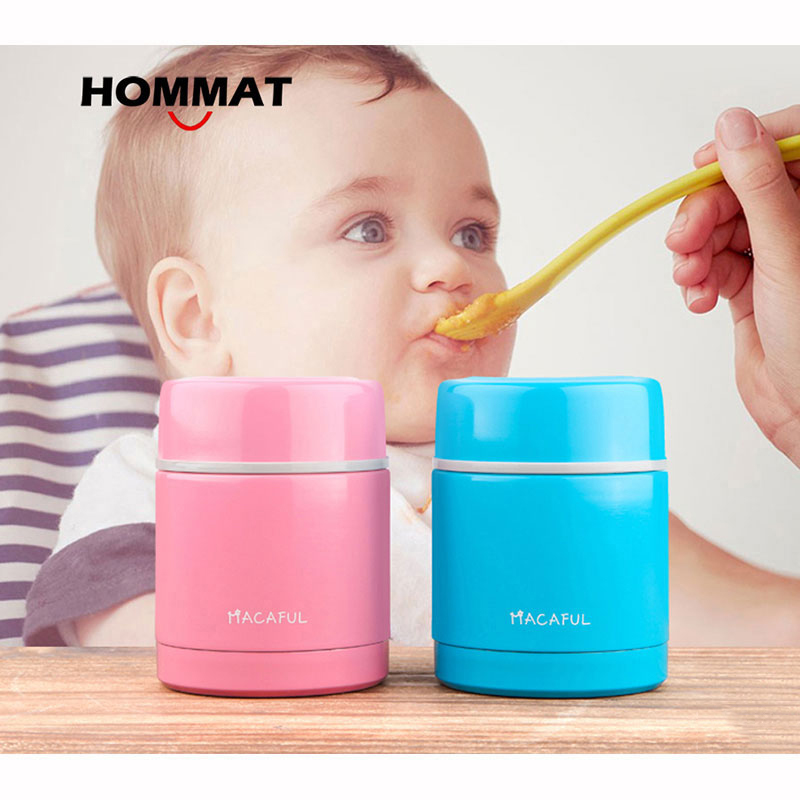 HOMMAT Stainless Steel Thermo Lunch Boxs Food Container