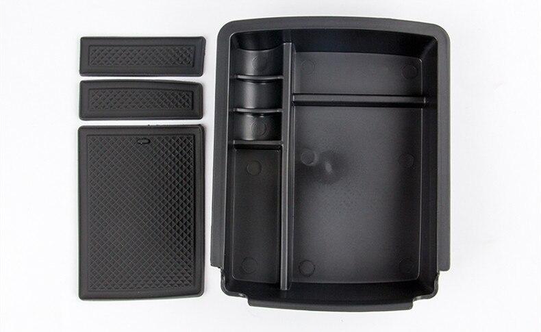 Accoudoir Central container titulaire boîte de stockage de plateau Pour VW Golf 7 MK7 GTI VII 2013-2015 organisateur de voiture accessoires, car styling