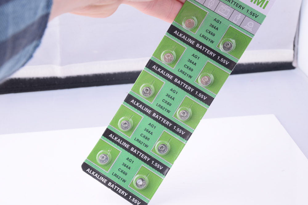10 x AG1 Watch Battery Cell AG1 364 SR621SW LR621 621 LR60 CX60 Alkaline Battery Button Coin Cell Batteries