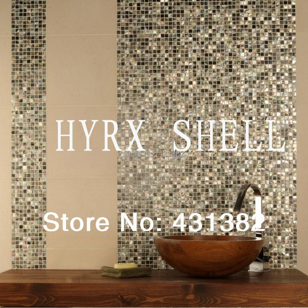 Aliexpress buy black lip shell mosaic tileluxury black aliexpress buy black lip shell mosaic tileluxury black mother of pearl tile kitchen backsplash tilebathroom mosaic tile black mother of pearl from dailygadgetfo Images