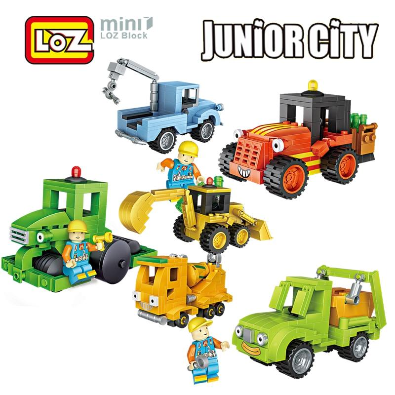 Aliexpress Buy Loz City Engineer 2in1 Mini Building