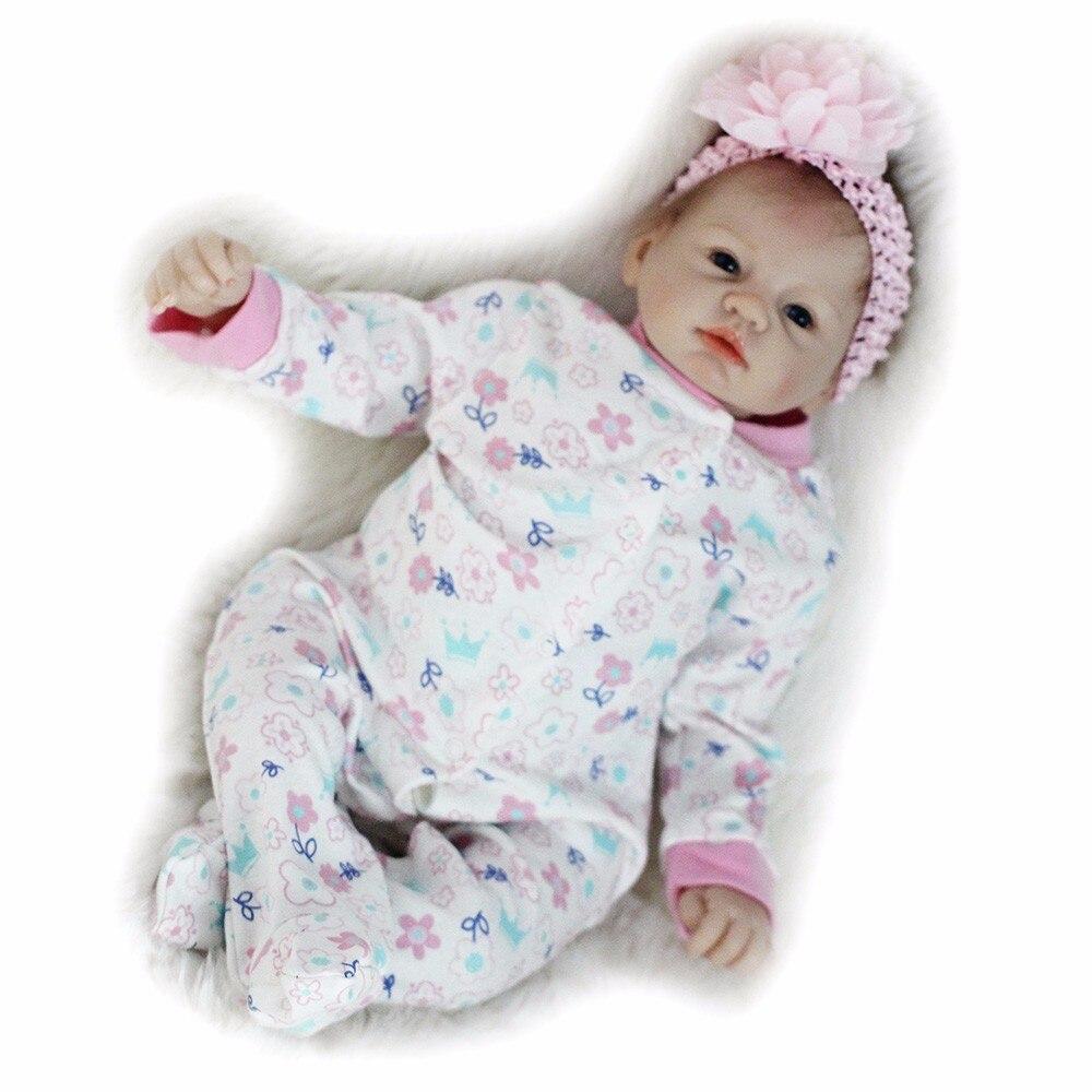 Otardpoupées Boneca Reborn 22 pouces Silicone souple vinyle poupée 55 cm Silicone souple Reborn bébé poupée nouveau-né réaliste Bebe Reborn poupées