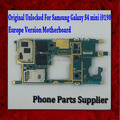 100% original versión europa desbloqueado placa base placa base para samsung galaxy s4 mini i9190/i9195, buen envío libre de trabajo