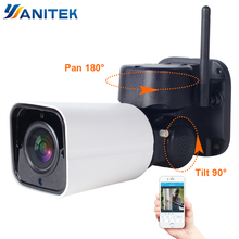 1080P 2MP kamera PTZ IP WiFi Bullet odkryty bezprzewodowy WiFi wodoodporna kamera CCTV nadzoru bezpieczeństwa 4X zoom optyczny IP Camara