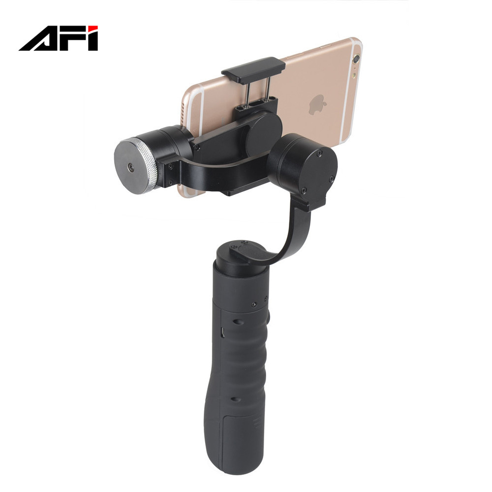 china product AFI V3 handheld 3 axis gimbal font b smartphone b font stabilizers for iphone