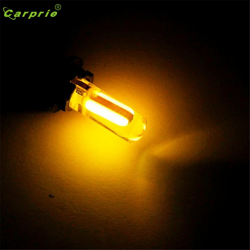 CARPRIE Car light <font><b>W5W</b></font> 1pcs T10 <font><b>LED</b></font> car light cob marker lamp 12 V 194 501 light <font><b>bulb</b></font> Colorful Car Light Panel Lamp