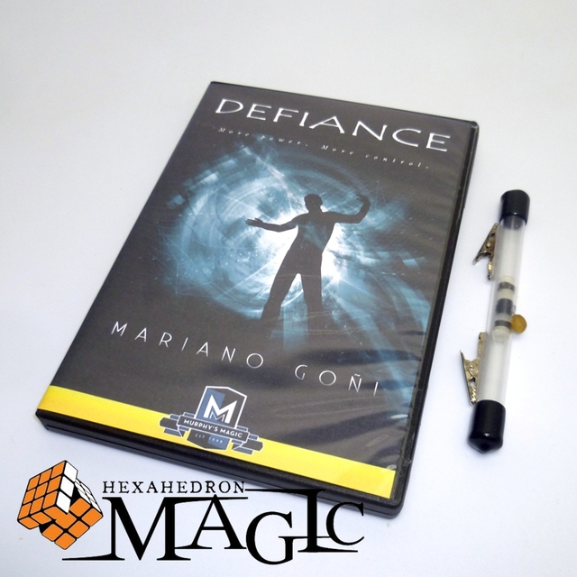 Defiance with Gimmick - Mariano Goni  close-up street stage floating magic tricks products toys