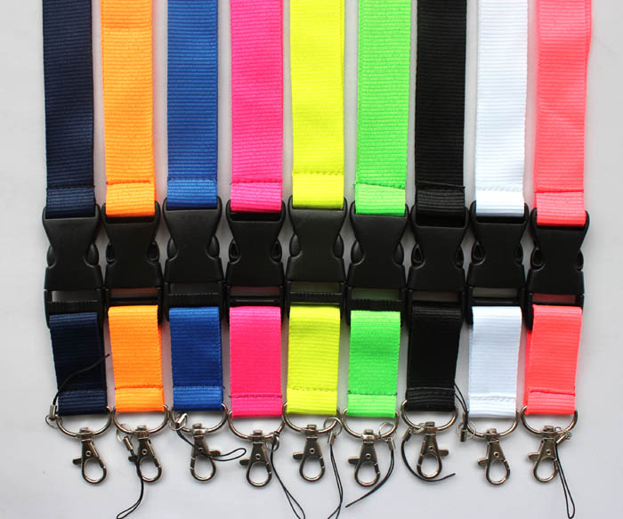 DHL Free Shipping Car sprot clothes logo Key chains Lanyard Badge Holders Mobile Phone Neck Straps