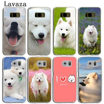 Lavaza lovely Samoyed dog Phone Shell Case for Samsung Galaxy S20 Ultra S10 Lite S10E S6 S7 Edge S8 S9 Plus A51 A71 A81 A91