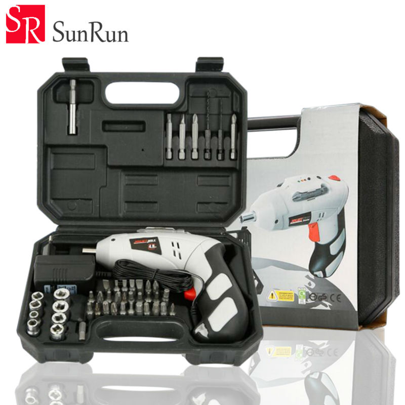 Electric Drill Cordless Screwdriver Rechargeable Battery Electric Screwdriver Parafusadeira Furadeira Tenwa Power Tools upt 32007d portable electric screwdriver screw gun power tools parafusadeira with 2pcs electric screwdriver head