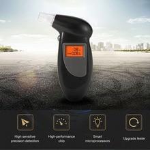 Handheld Backlight Digital Alcohol Tester LCD Alcohol Breath Tester Breathalyzer Analyzer Detector 1 6 lcd digital alcohol breath tester 3 aaa