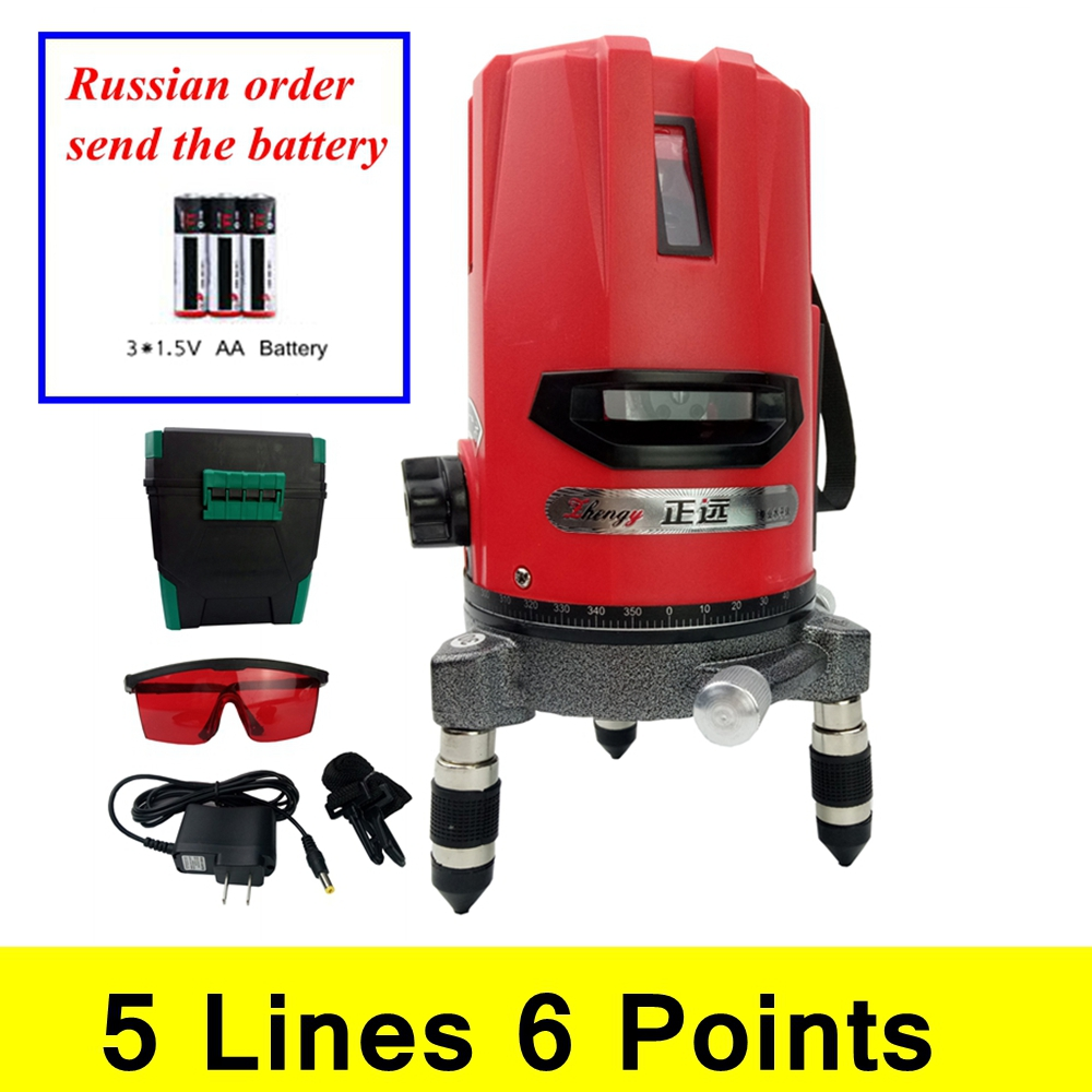Laser Level 5 Lines 6 Points Level Tilt Function 360 Rotary Self Lleveling Vertical & horizontal Corss Line Lazer Level Tools xeast xe 50r new arrival 5 lines 6 points laser level 360 rotary cross lazer line leveling with tilt function