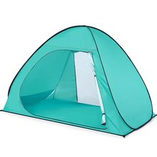 Lixada Beach Tent Pop Up Open  Automatic Anti-UV Coating Shelter for 3 Person UPF50 UV Protection Shade Camping