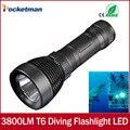 CREE xml t6 3800 Люмен Дайвинг фонарик привели дайвинг свет buceo фонарь для дайвинга, Подводной вспышки света lanterna 18650 или 26650