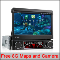Universal Quad Core Android Car DVD 1 DIN Car Video Player WIFI GPS Navi Handfree Call