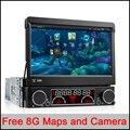 Universal Quad Core Android Carro DVD 1 DIN Player De Vídeo Do Carro WI-FI GPS Navi Chamada Handfree Carro DVD Del Coche In-dash Android Car PC