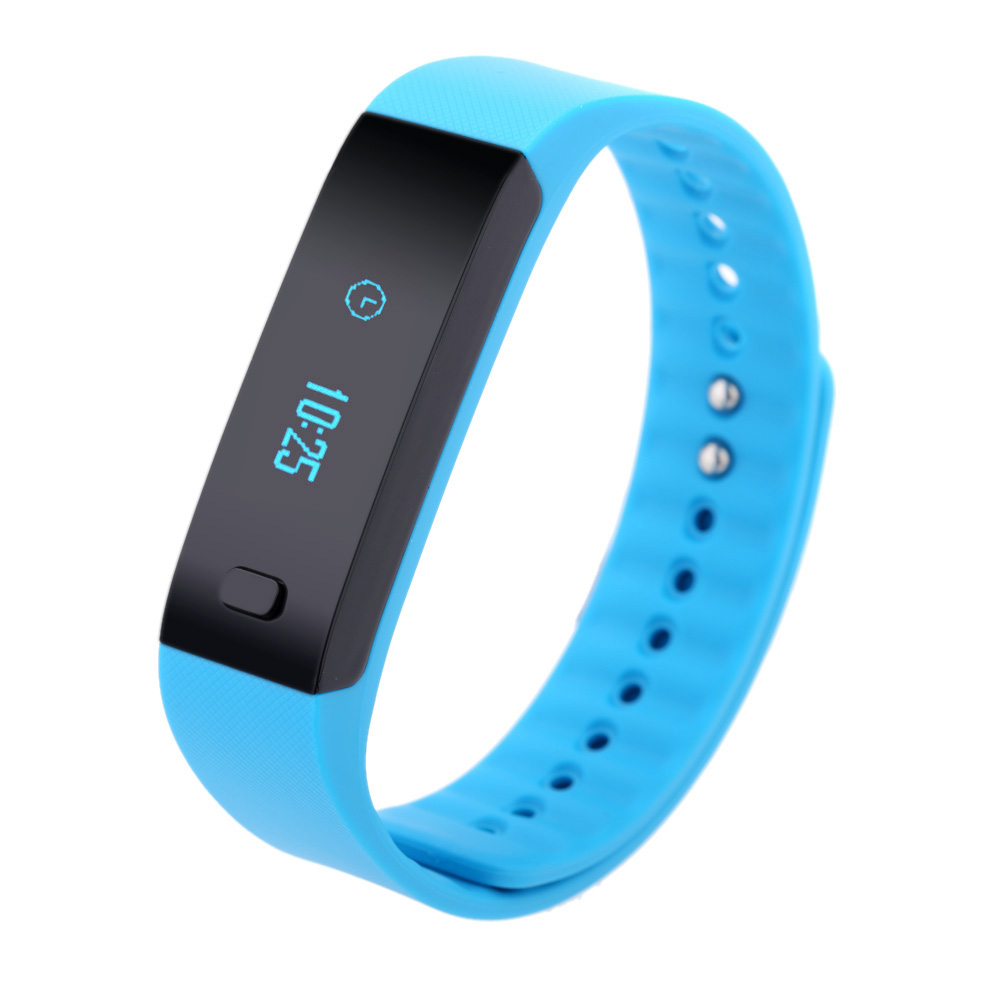 K1 Bluetooth BT4.0 Sports Bracelet OLED Display Screen for IOS 6.0 Android 4.3 Above Smartphone Pedometer Sleep Monitor Remind