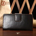 Vintage New Genuine Cow Leather Men's Long Design Wallet Large Capacity Wallet Coins Purse Cowhide Male Card Holder Business bag