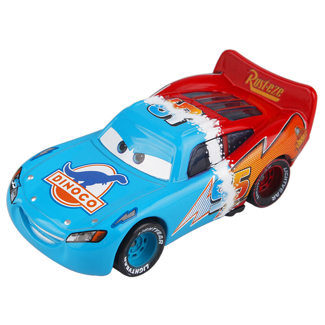 Disney Pixar Cars 3 Lightning McQueen 1:55 Double Color Diecast ...