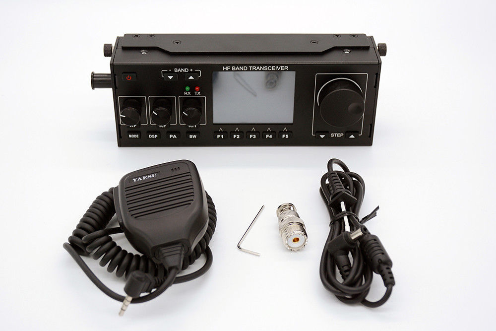US $390 0 |10 15W RS 918 SSB HF SDR HAM Transceiver Transmit Power TX 0 5  30MHz V0 6 DF8OE's bootloader version 4 0 0 Compatible with MCHF-in Telecom