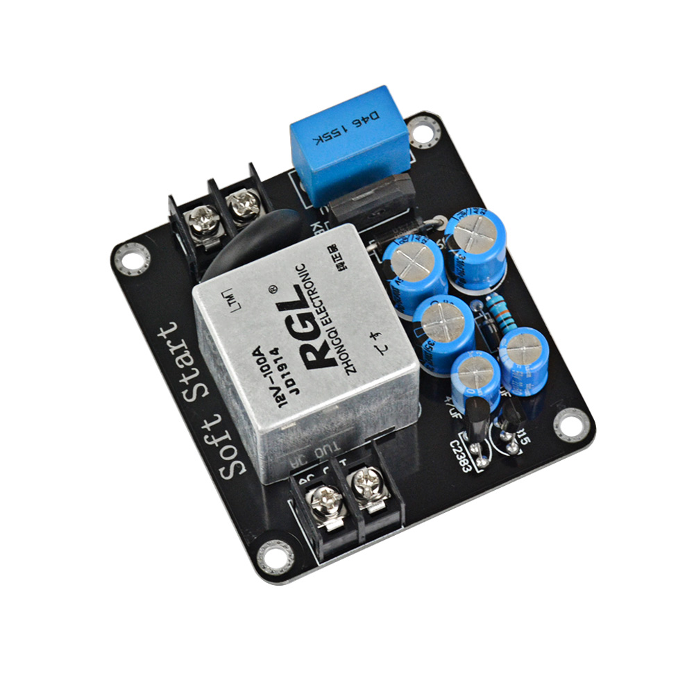 Aiyima Amplifier Power Supply Soft Starting Amp Board High Current Relay Start 100a For Class A Audio Diy 1500w In From Consumer