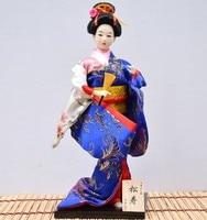 TNUKK 12 Japanese Geisha statue 30cm hand made crafts for home deocration Ancient Japanese Fork Culture.