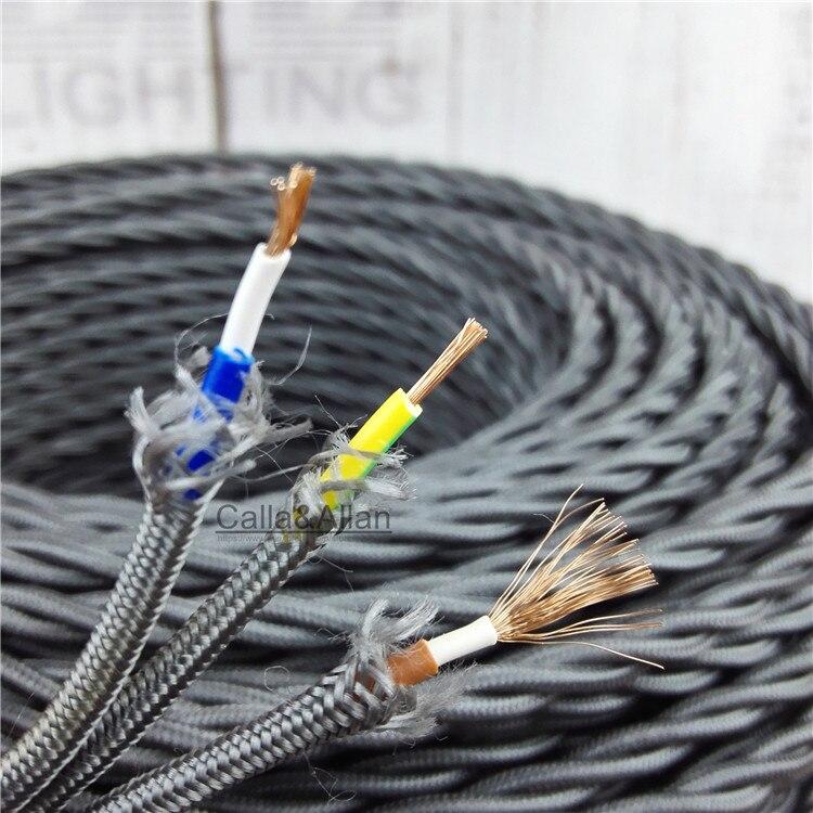 Ziemlich Verdrehtes Elektrisches Kabel Zeitgenössisch - Elektrische ...
