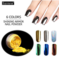 Shinning Mirror Nail Glitter Powder Gorgeous Nail Art Pigment Chrome Pigment Glitters Dust Nail Art Decorations holographic